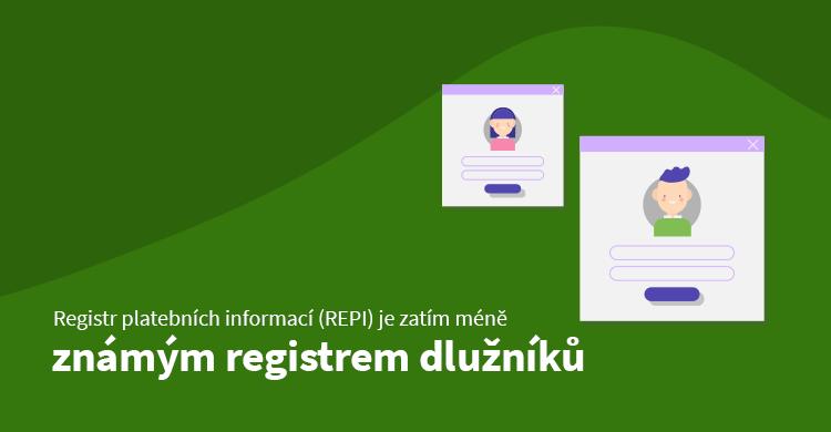 Registr platebních informací (REPI) je zatím méně známým registrem dlužníků